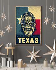 Bigfoot Texas flag 24x36 Poster lifestyle-holiday-poster-1