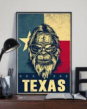 Bigfoot Texas flag 24x36 Poster lifestyle-poster-2