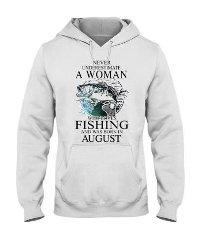 Never underestimate a woman who loves fishing