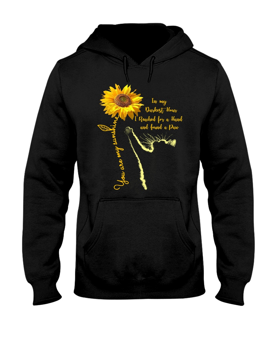 You are my sunshine - Cat Hooded Sweatshirt