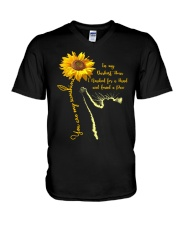 You are my sunshine - Cat V-Neck T-Shirt thumbnail