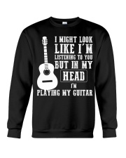 guitar in my head Crewneck Sweatshirt thumbnail