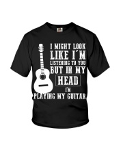 guitar in my head Youth T-Shirt thumbnail