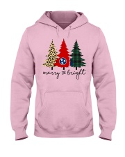 Merry and bright Tennessee 9993 0037 Hooded Sweatshirt front