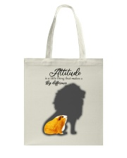 Attitude is a little thing making a big difference Tote Bag thumbnail