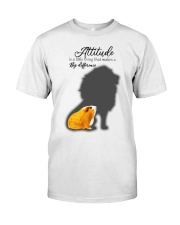 Attitude is a little thing making a big difference Classic T-Shirt thumbnail