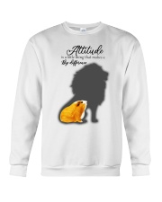 Attitude is a little thing making a big difference Crewneck Sweatshirt thumbnail