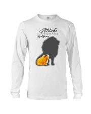 Attitude is a little thing making a big difference Long Sleeve Tee thumbnail