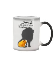Attitude is a little thing making a big difference Color Changing Mug thumbnail