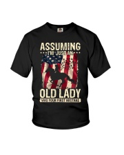 assuming i'm just an old lady was your first Youth T-Shirt thumbnail