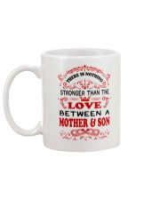The Love Between A Mother And Son Mug back