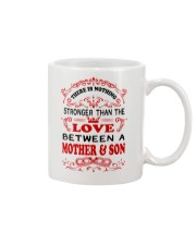 The Love Between A Mother And Son Mug front