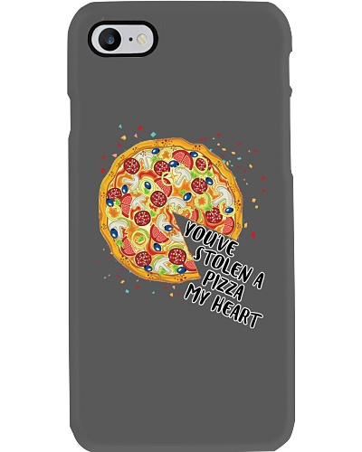 You've Stolen A Pizza My Heart - Boy Phone Case