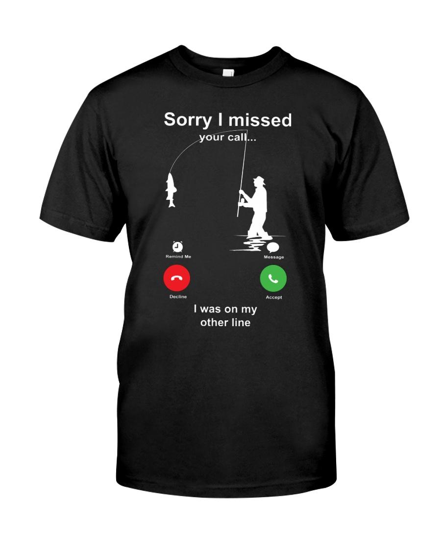 Missed Call FISHING Classic T-Shirt