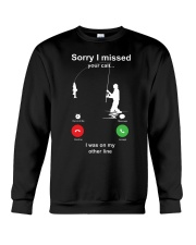 Missed Call FISHING Crewneck Sweatshirt thumbnail