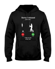 Missed Call FISHING Hooded Sweatshirt thumbnail