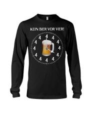 Kein Bier Vor Vier Shirt Long Sleeve Tee thumbnail