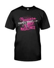 Gun Mascara And Magazines Shirt Classic T-Shirt front