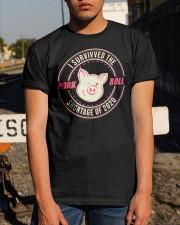 I Survived The Pork Roll Shortage Of 2020 Shirt Classic T-Shirt apparel-classic-tshirt-lifestyle-29