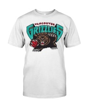 Bear Vancouver Grizzlies Shirt Premium Fit Mens Tee thumbnail