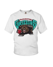 Bear Vancouver Grizzlies Shirt Youth T-Shirt thumbnail
