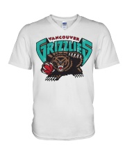 Bear Vancouver Grizzlies Shirt V-Neck T-Shirt tile