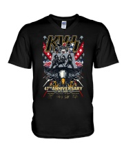 Kiss 47th Anniversary 1973 2020 Shirt V-Neck T-Shirt thumbnail