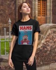 Parody Jaws Hams Shirt Classic T-Shirt apparel-classic-tshirt-lifestyle-06
