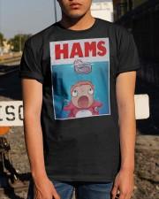 Parody Jaws Hams Shirt Classic T-Shirt apparel-classic-tshirt-lifestyle-29