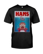Parody Jaws Hams Shirt Classic T-Shirt front