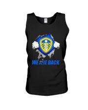 Leeds United We Are Back Shirt Unisex Tank thumbnail