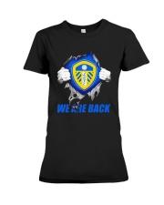 Leeds United We Are Back Shirt Premium Fit Ladies Tee thumbnail