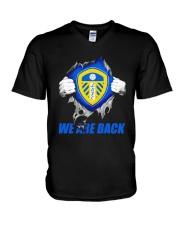 Leeds United We Are Back Shirt V-Neck T-Shirt thumbnail