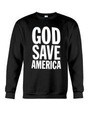 God Save America Kanye 2020 Shirt Crewneck Sweatshirt thumbnail