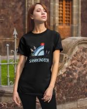 Sharkindeer Shirt Classic T-Shirt apparel-classic-tshirt-lifestyle-06