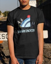 Sharkindeer Shirt Classic T-Shirt apparel-classic-tshirt-lifestyle-29