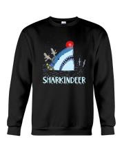 Sharkindeer Shirt Crewneck Sweatshirt thumbnail