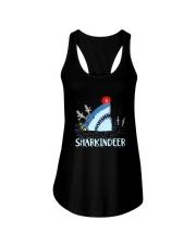 Sharkindeer Shirt Ladies Flowy Tank thumbnail