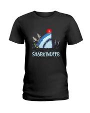 Sharkindeer Shirt Ladies T-Shirt thumbnail