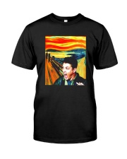 Halloween Dean Winchester Scream Shirt Classic T-Shirt front