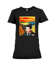 Halloween Dean Winchester Scream Shirt Premium Fit Ladies Tee thumbnail