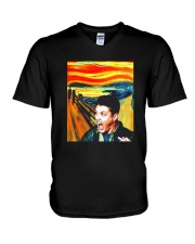 Halloween Dean Winchester Scream Shirt V-Neck T-Shirt thumbnail