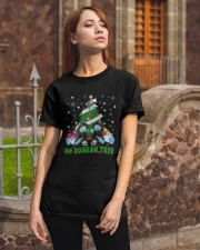 Daschund Oh Quaran Tree Shirt Classic T-Shirt apparel-classic-tshirt-lifestyle-06