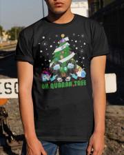 Daschund Oh Quaran Tree Shirt Classic T-Shirt apparel-classic-tshirt-lifestyle-29