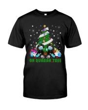 Daschund Oh Quaran Tree Shirt Classic T-Shirt front