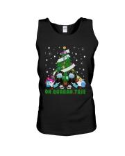 Daschund Oh Quaran Tree Shirt Unisex Tank thumbnail