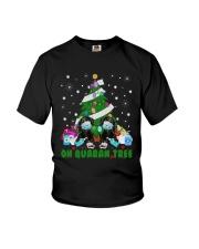Daschund Oh Quaran Tree Shirt Youth T-Shirt thumbnail