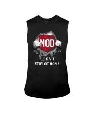 Mod Covid 19 2020 I Can't Stay At Home Shirt Sleeveless Tee thumbnail