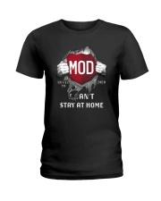 Mod Covid 19 2020 I Can't Stay At Home Shirt Ladies T-Shirt thumbnail