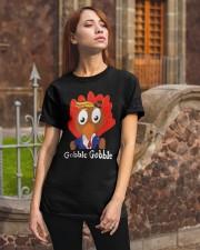 Trump Thanksgiving Gobble Gobble Shirt Classic T-Shirt apparel-classic-tshirt-lifestyle-06